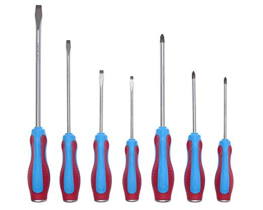 Code Blue Slotted Screwdrivers, 8 1/2 in Overall Length ...