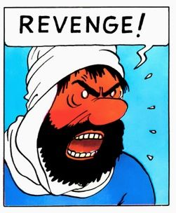 Tintin The Crab With The Golden Claws Captain Haddock Goes Crazy And Loses It The Captain Does His Block Made Riawati Capitaine Haddock Bd Tintin Herge
