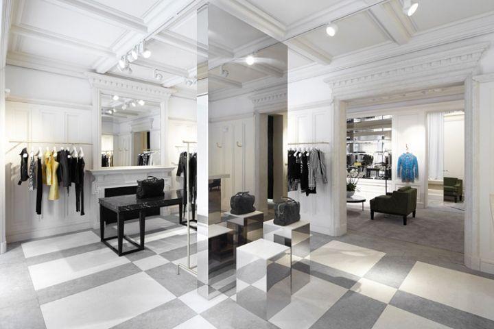Balmain Retail Interior Retail Design Store Design