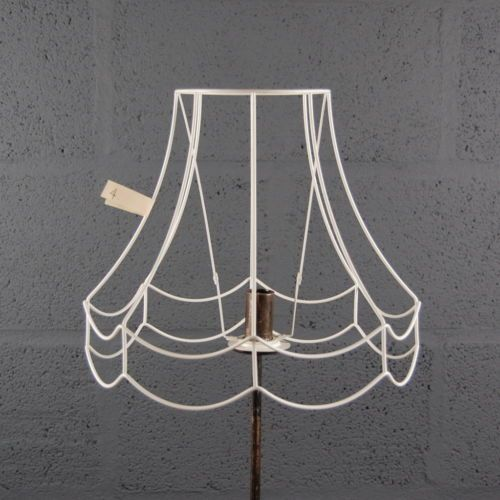 Wire Lampshade Frames Fascinating 12Doublescollopwirelampshadelampshadeframe  Lampshade Review