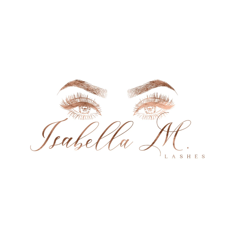 Lash Logo, Rose Gold Lash Logo, Lash Extension Logo, Wink Logo, Premade Eyelash Logo, Studio Logo, Brows Logo, Makeup Logo Design, Brow logo -   11 makeup Logo cartoon ideas