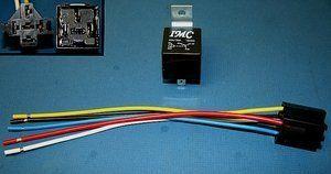 e282ee37a1ac190a8ed3ea11c9c4f6bb imc audio 30 40 amp relay harness spdt 12v bosch style 10 pack