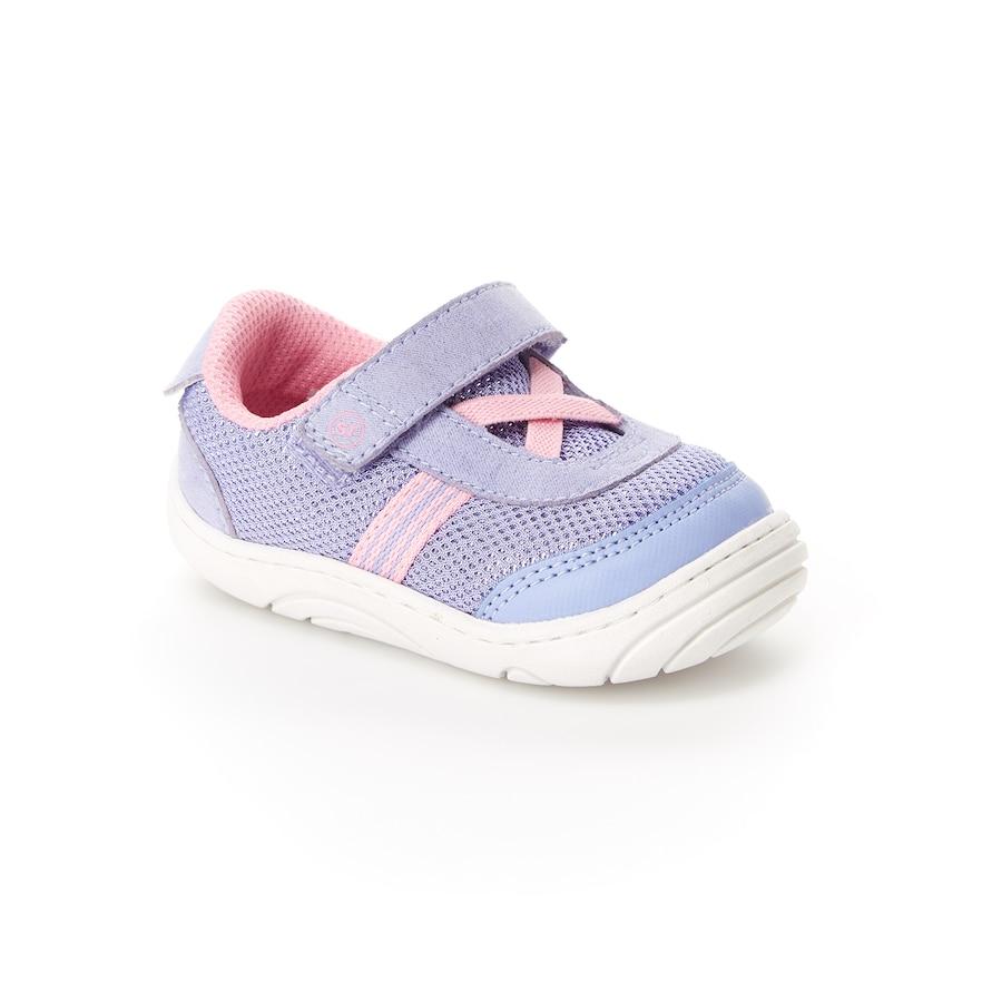 020fee5845 Stride Rite Jackson Baby Girls  Sneakers