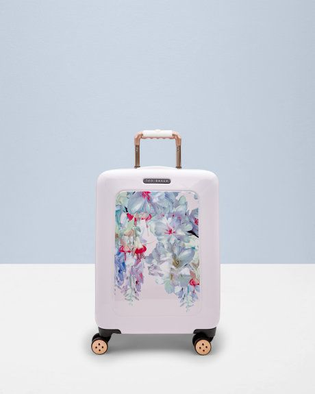 0fef066d6 Hanging Gardens small suitcase - Pink   Travel and Luggage   Ted Baker UK