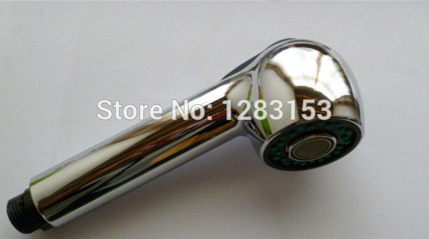 FREE Shipping Kitchen Faucet Spray Head Replacement Pull Head Polished  Chrome Plated Water Tap Pull Out