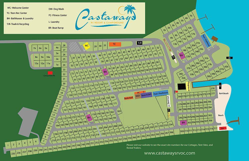 castaways campground  oc  md