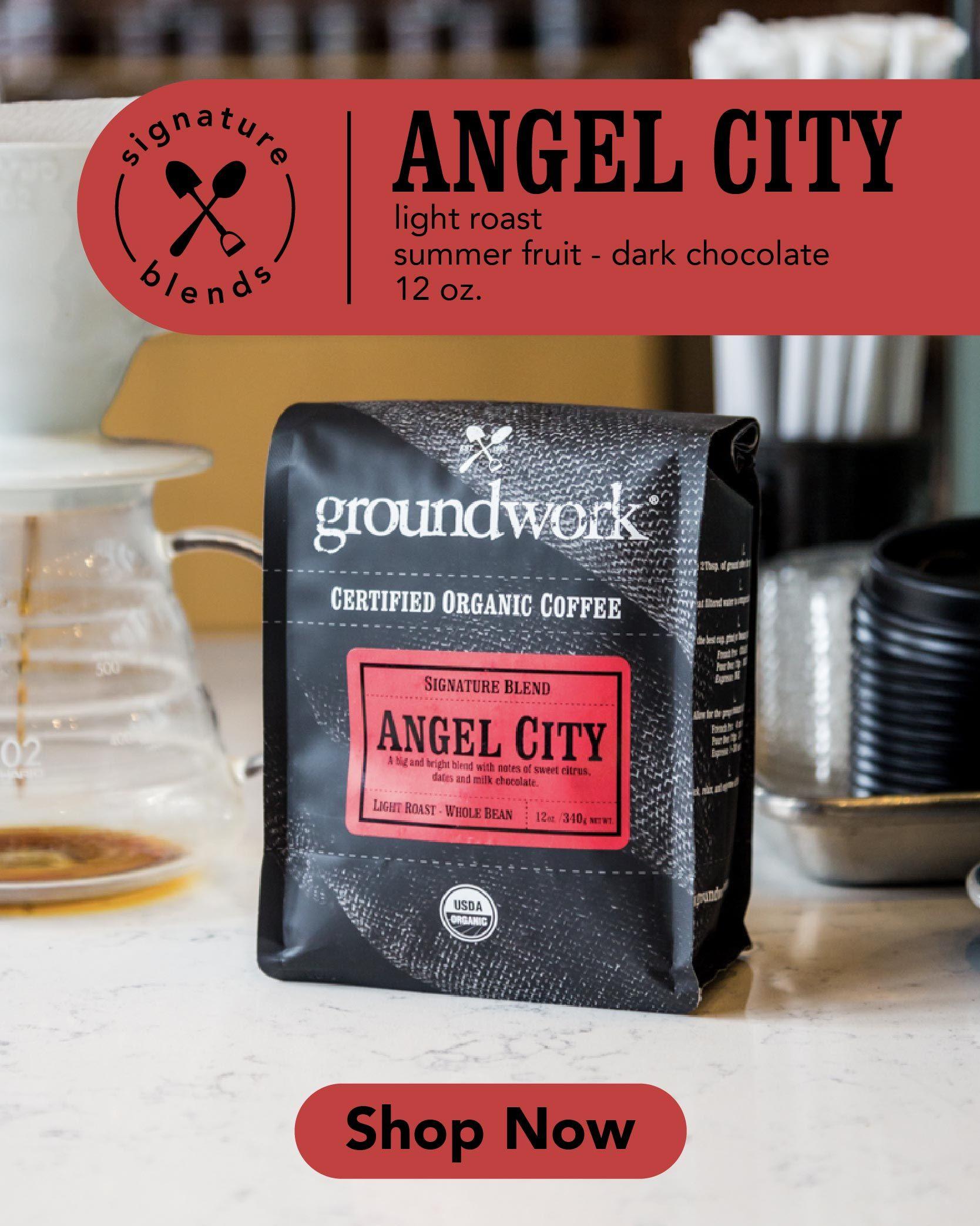 Angel City In 2020 Light Roast Coffee Light Roast Organic Coffee