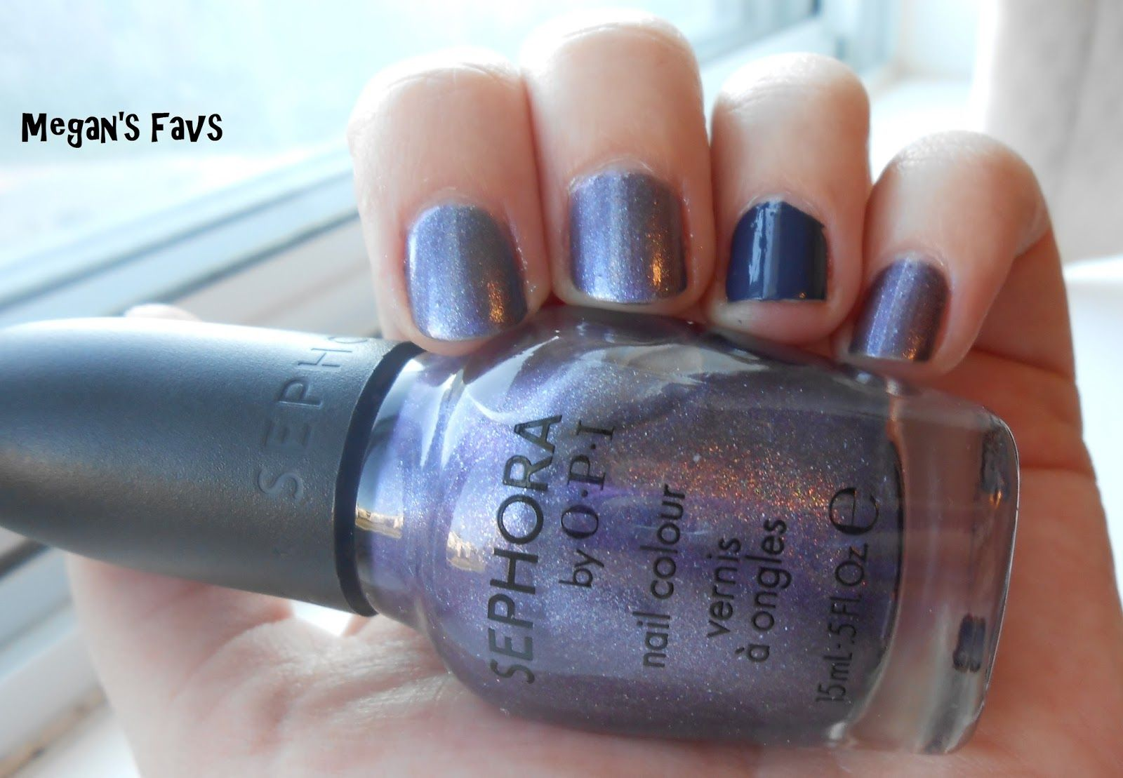 Sephora by OPI I Don\'t Bite with Julep Millie as the accent | My ...