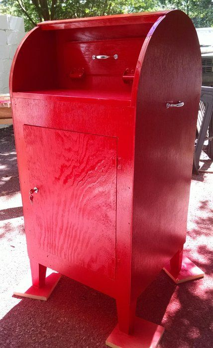 Letters To Santa Mailbox For Local Elementary School Santa