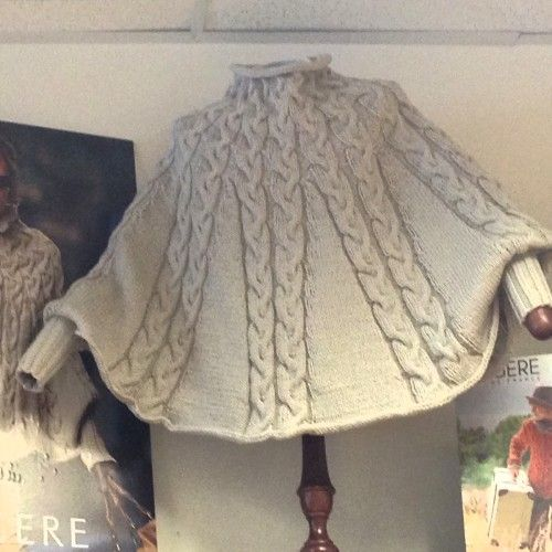 We Like Knitting January Kal Poncho Free Pattern Strik