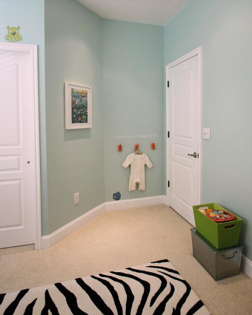 Behr Paint 490E-3 + 460E-2   Baby room design boy, Blue ...