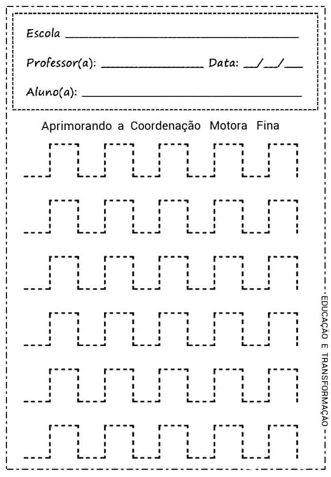 Coordenacao Motora Fina Coordenacao Motora Fina Coordenacao