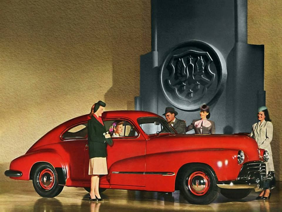 Oldsmobile Dynamic 76 Club Sedan, 1946. http://www.flickriver.com ...