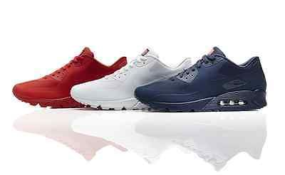 NIKE AIR MAX 90 HYPERFUSE PRM AMERICAN USA FLAG UK7-10 TRAINERS INDEPENDENCE DAY