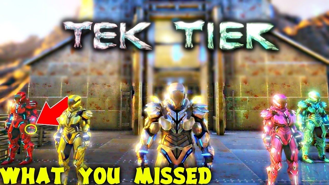Ark survival evolved what you missed in the official tek tier ark survival evolved what you missed in the official tek tier reveal malvernweather Gallery