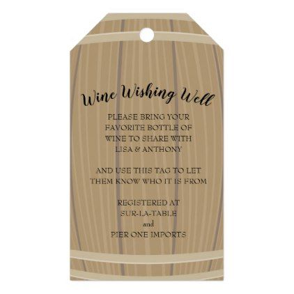 bridal shower wine wishing well insert and gift ta gift tags bridal shower gifts ideas wedding bride