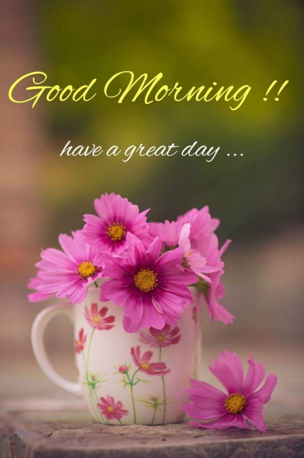 Good Morning One Day At A Time Pinterest Good Morning