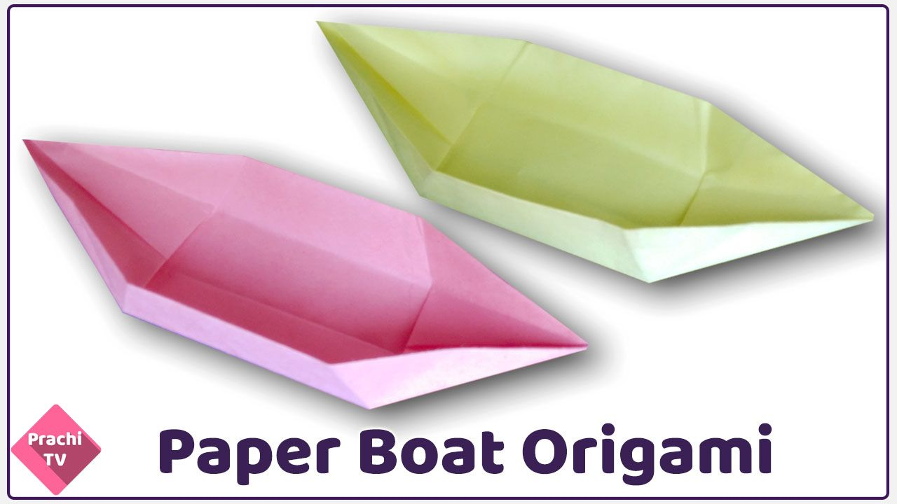 How to make origami paper boat using square paper that floats easy how to make origami paper boat using square paper that floats easy step by step instructionstutorial in this video prachi tv provide origami paper boat jeuxipadfo Image collections