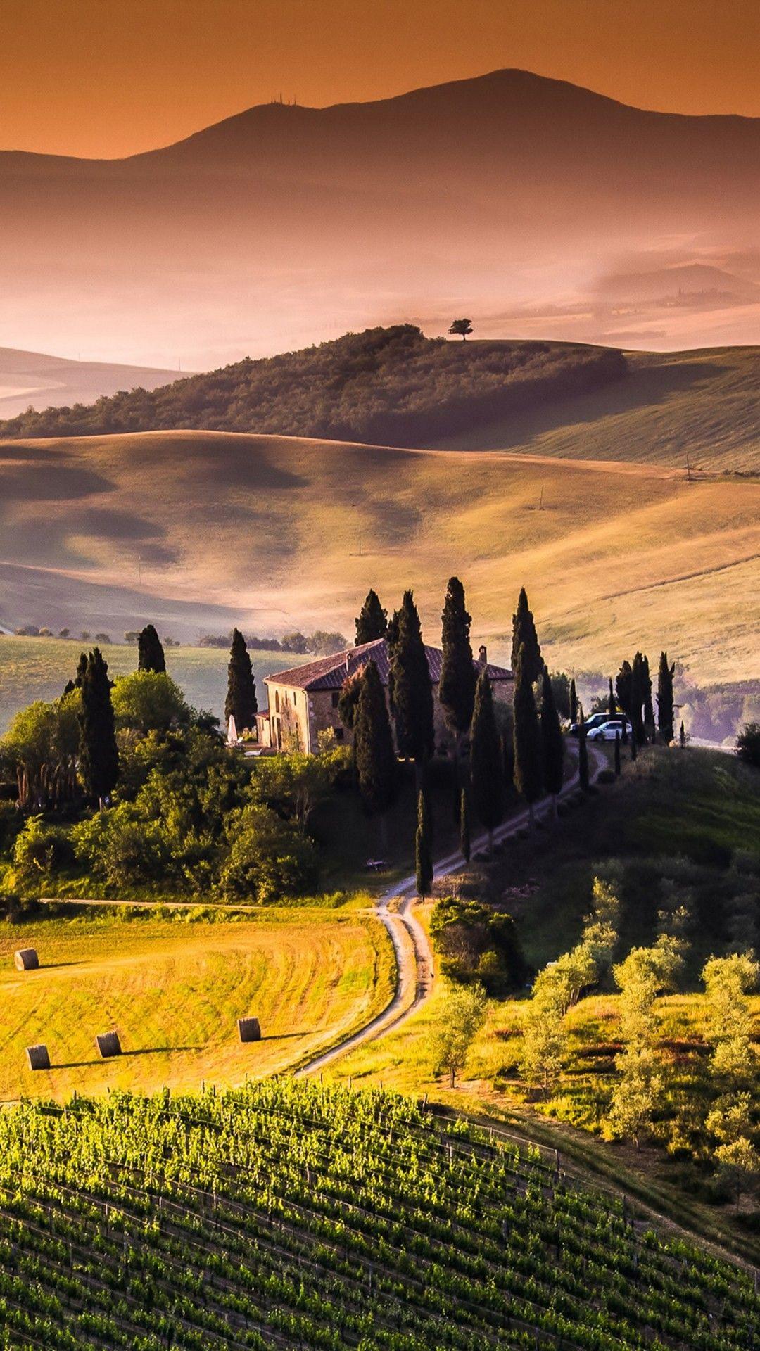 Landscape 4k ultra hd wallpaper tuscany landscape 4k - Nature wallpaper 4k iphone ...