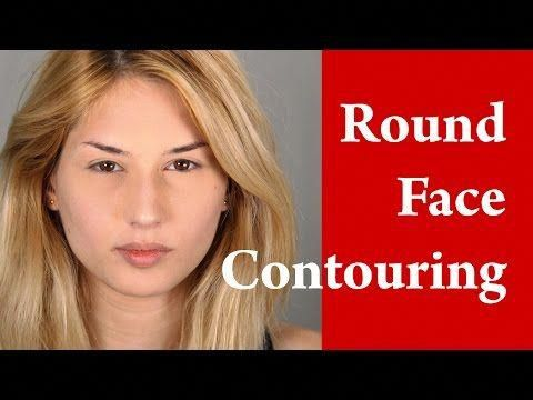 Round Shaped Face Makeup Tutorial For Close Set Eyes You