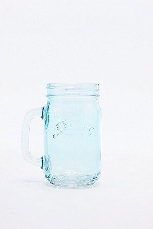 Kilner Jar Glass in Blue
