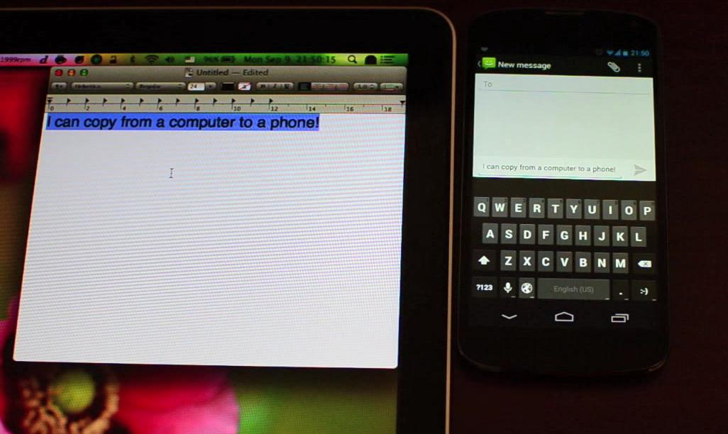 Lee Clipbrd, copia y pega cualquier texto entre dispositivos