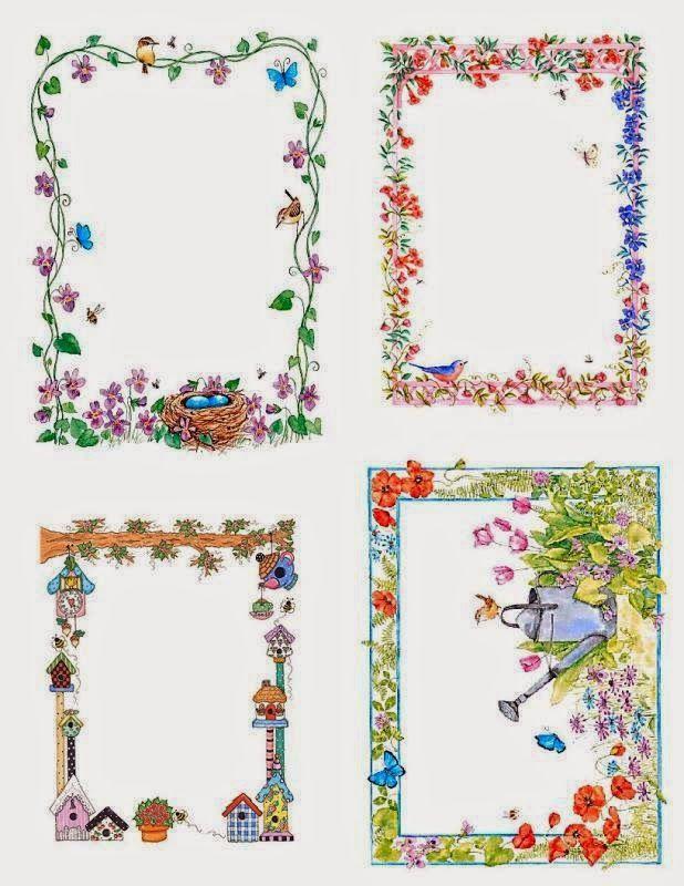 Marcos o Tarjetas para Imprimir Gratis. | Marcos/Frame | Pinterest ...