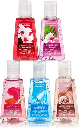 Classic Faves 5 Pack Pocketbac Sanitizers Soap Sanitizer Bath