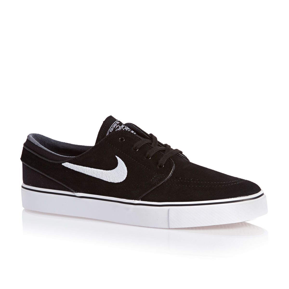 Black · £59.99 - Nike Skateboarding Zoom Stefan Janoski Trainers - Black/ white