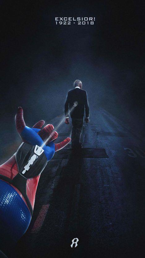 Tony Stark Has A Heart Iphone Wallpaper Iphone Wallpapers Stan Lee Marvel Wallpaper Marvel Art