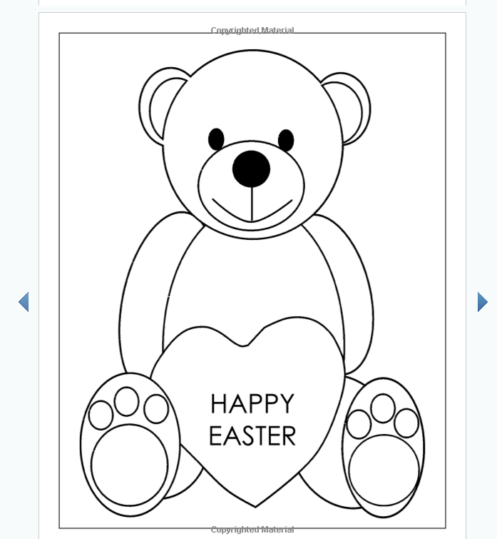 Easter Coloring Books For Kids Sample Image 3 Eastercoloringbooks Eastereggs Easterbooks Eastergifts