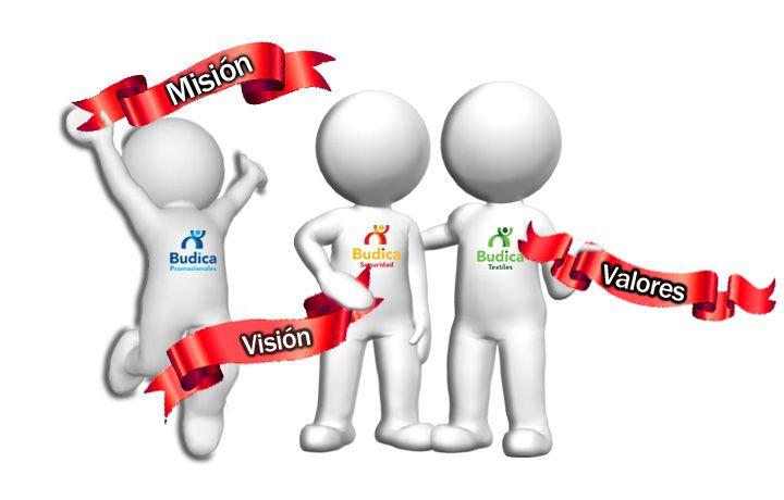 Misión, visión, valores.