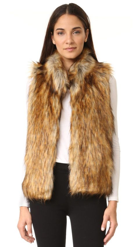 74eecf7e3 Faux Fur Vests Are A Must Have Trend For Fall 2016! | chic | Faux ...