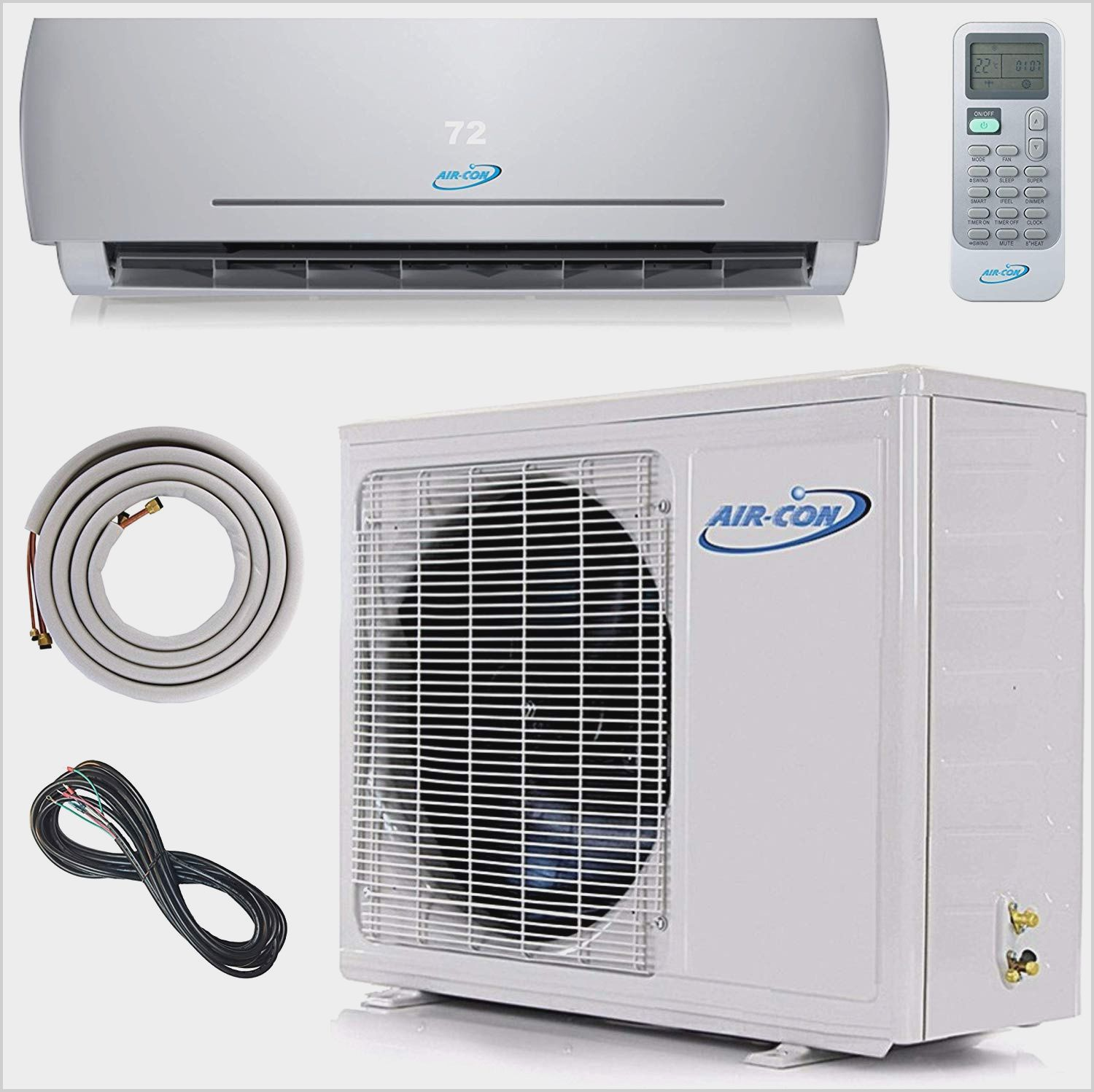 Small Aircon Unit For Bedroom In 2020 Ductless Air Conditioner Ac Heating Heating Systems