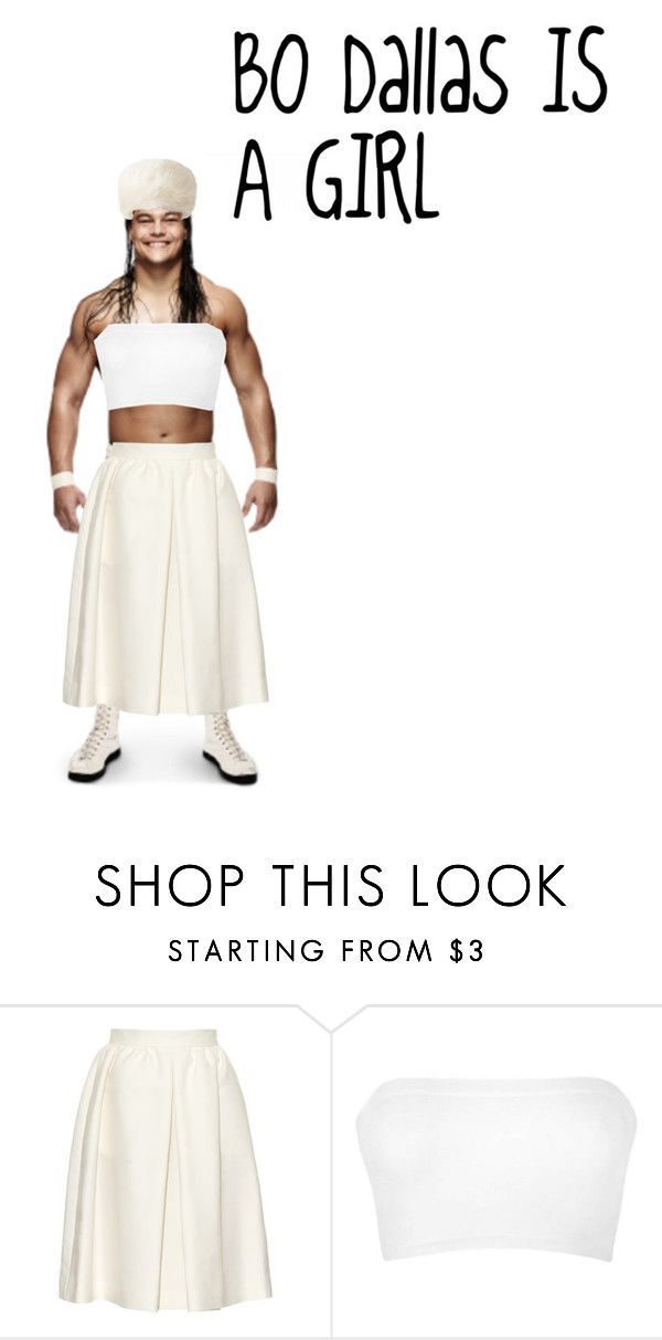 """""""Bo Dallas is A GIRL"""" by wwe-future-diva ❤ liked on Polyvore featuring Vanessa Bruno, Ally Fashion and UGG Australia"""