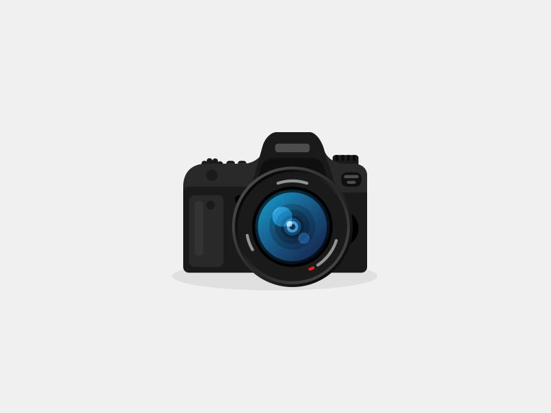 Flat Camera Icon Camera Icon Icon Graphic Design Tools