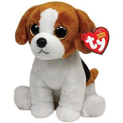 0a99a07936b Ty Beanie Baby Banjo Plush - Beagle.