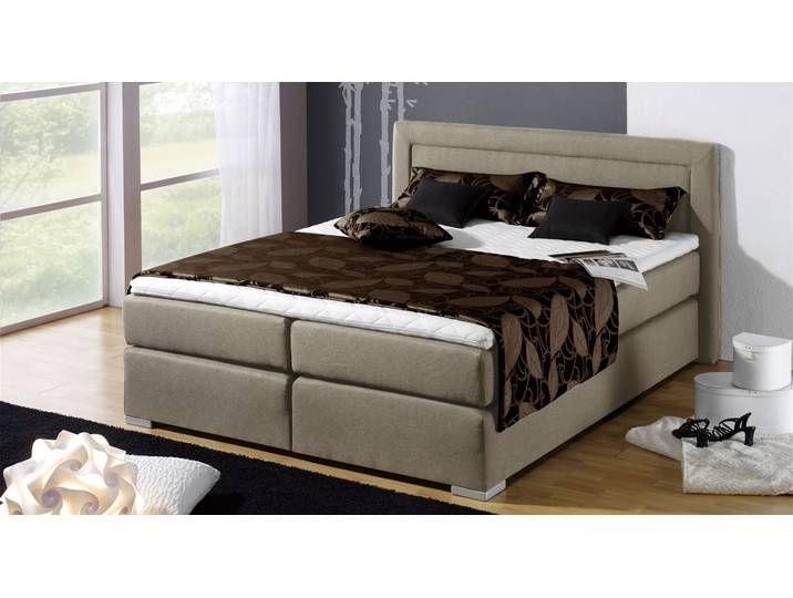 Amerikanisches Bett Houston 160x200 cm sandfarben