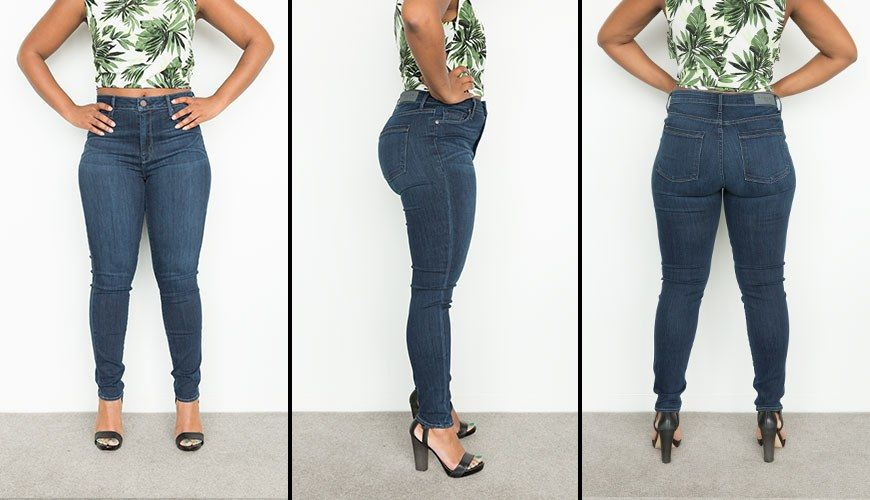 b127967a4ed I Tried 20 Pairs Of Jeans And These Are My Faves For Curvy Girls