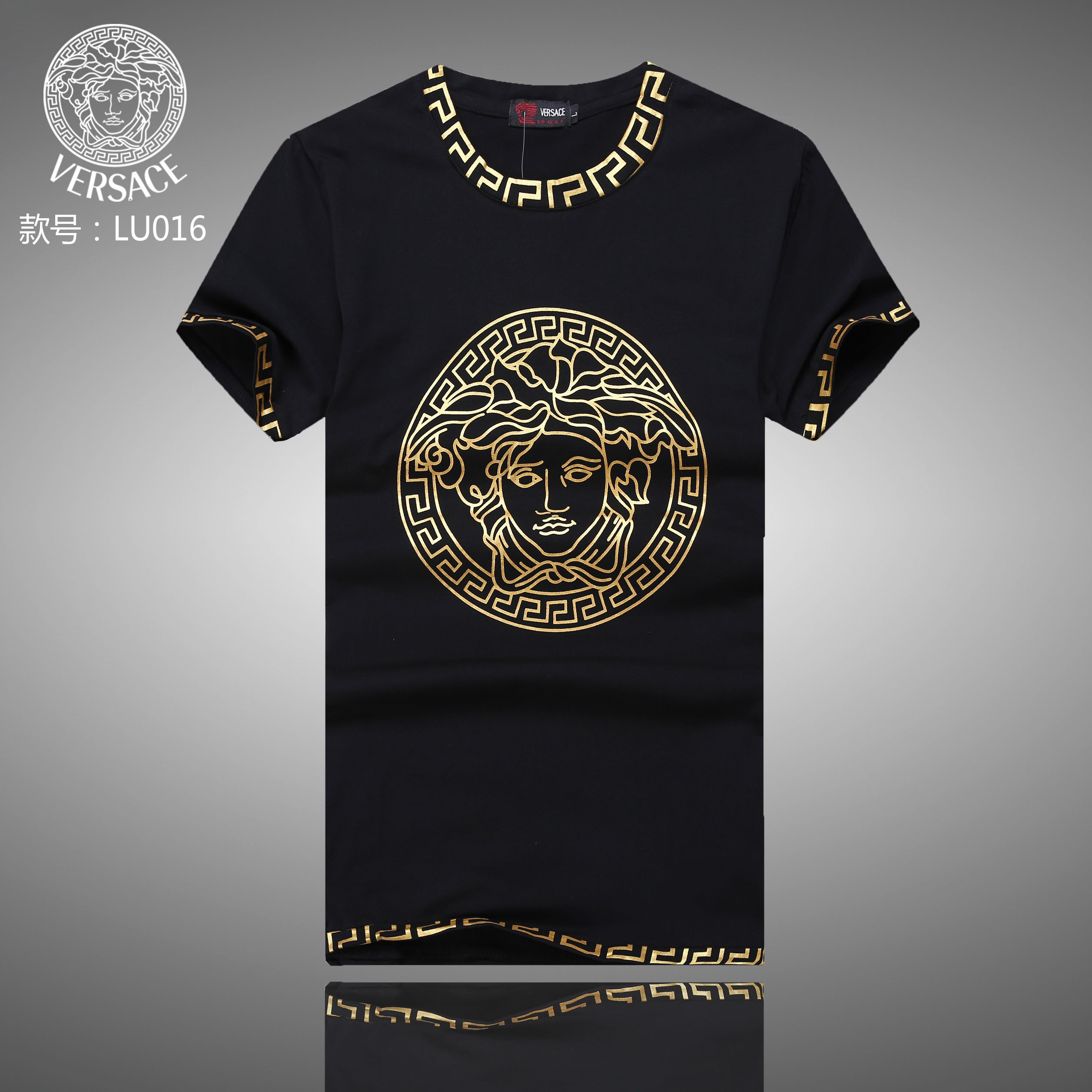 8eb837300f Replica Versace T-Shirts for men #256027 for cheap,$21 USD On sale ...
