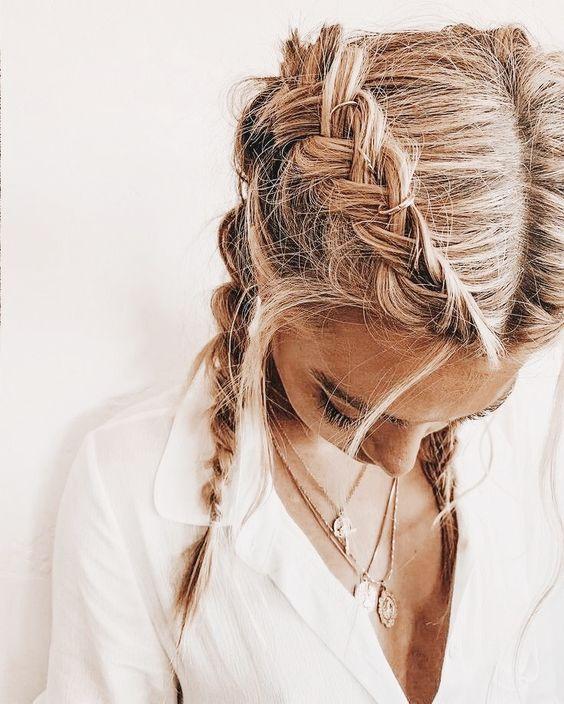 Summer Hairstyle Ideas For Women Simple Cute Hair Do Inspiration Braids For Medium Length Hair Medium Length Hair Styles Prom Hairstyles For Long Hair