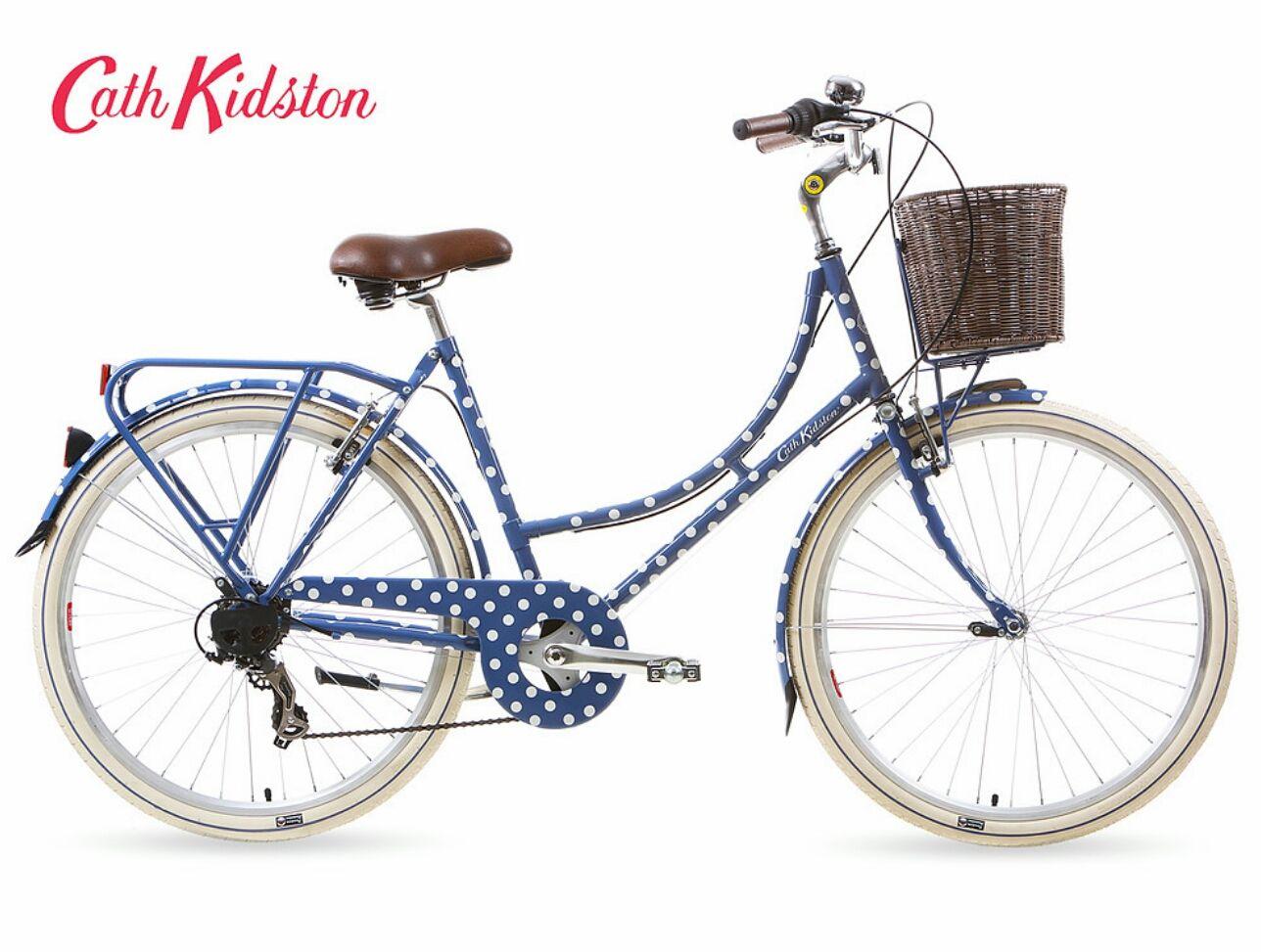 Cath Kidston X Kingston Bicycles Womens Bike Blue Bikes Bicycle