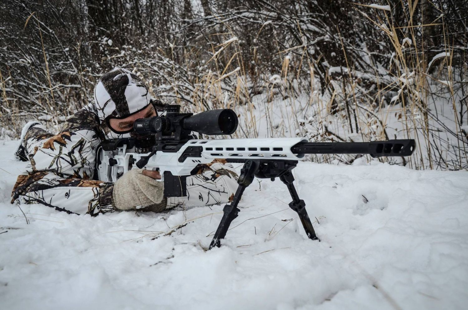 POTD: Storm Trooper White from Cadex Defence -The Firearm Blog