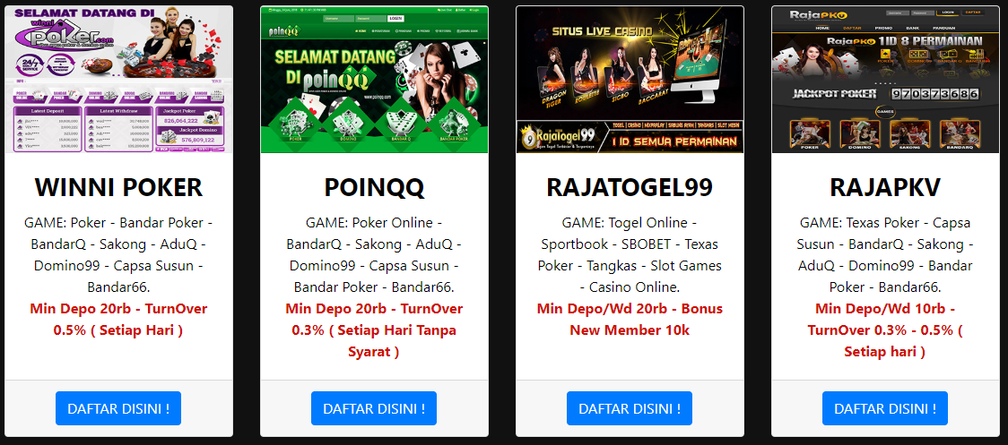 Kumpulan Situs Poker Domino Qq Online Terbaru Terbaik Terpercaya Poker Game Texas