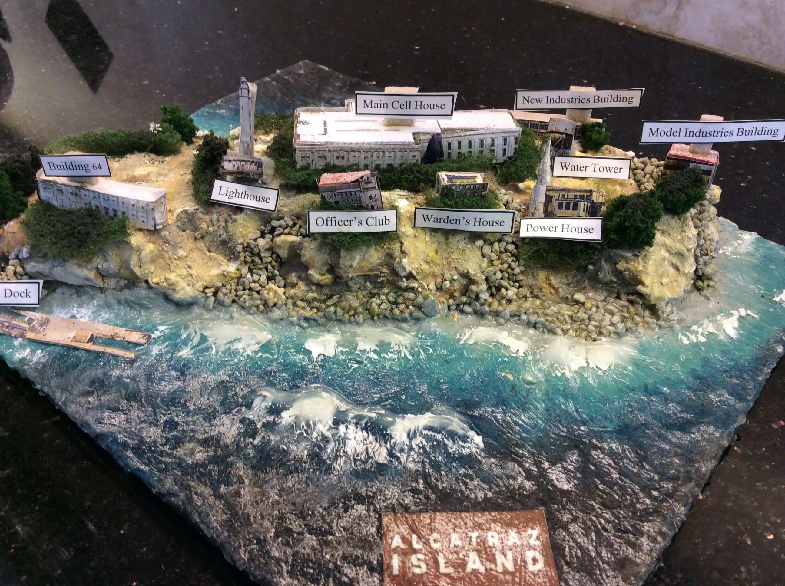 Alcatraz Model Alcatraz Alcatraz Island Model Industry