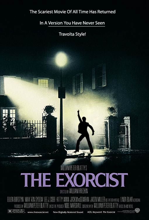 The Exorcist Movietavern Exorcist Movie Horror Movie Posters Scary Films