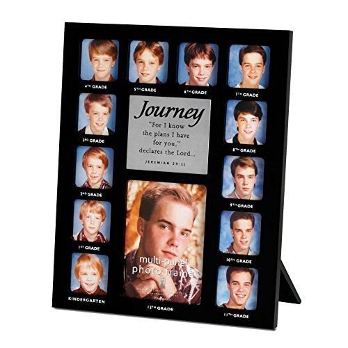 Lighthouse Christian Products Journey 13 Photo Frame Collage 9 12 X 11 34 Blacksilver Read More Reviews Of Framed Photo Collage Graduation Photo Frame Frame