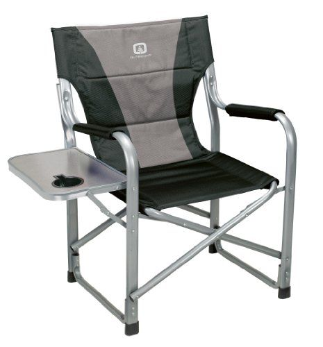 Outbound Deluxe Directors Chair With Side Table Black Medium Outbound Equipment Http Www Amazon Com Dp B00 Black Side Table Directors Chair Portable Chair