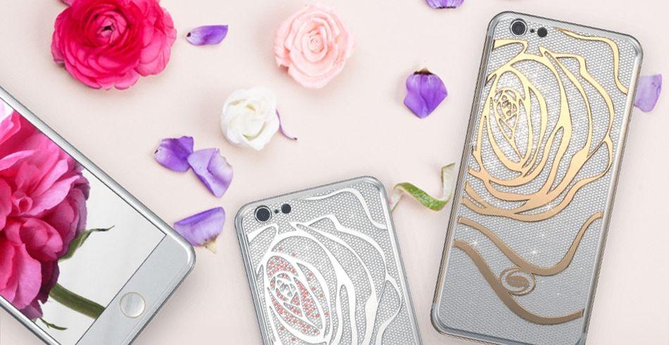OUVRI онлайн-бутик эксклюзивных смартфонов iPhone 6s от французского ювелирного Дома