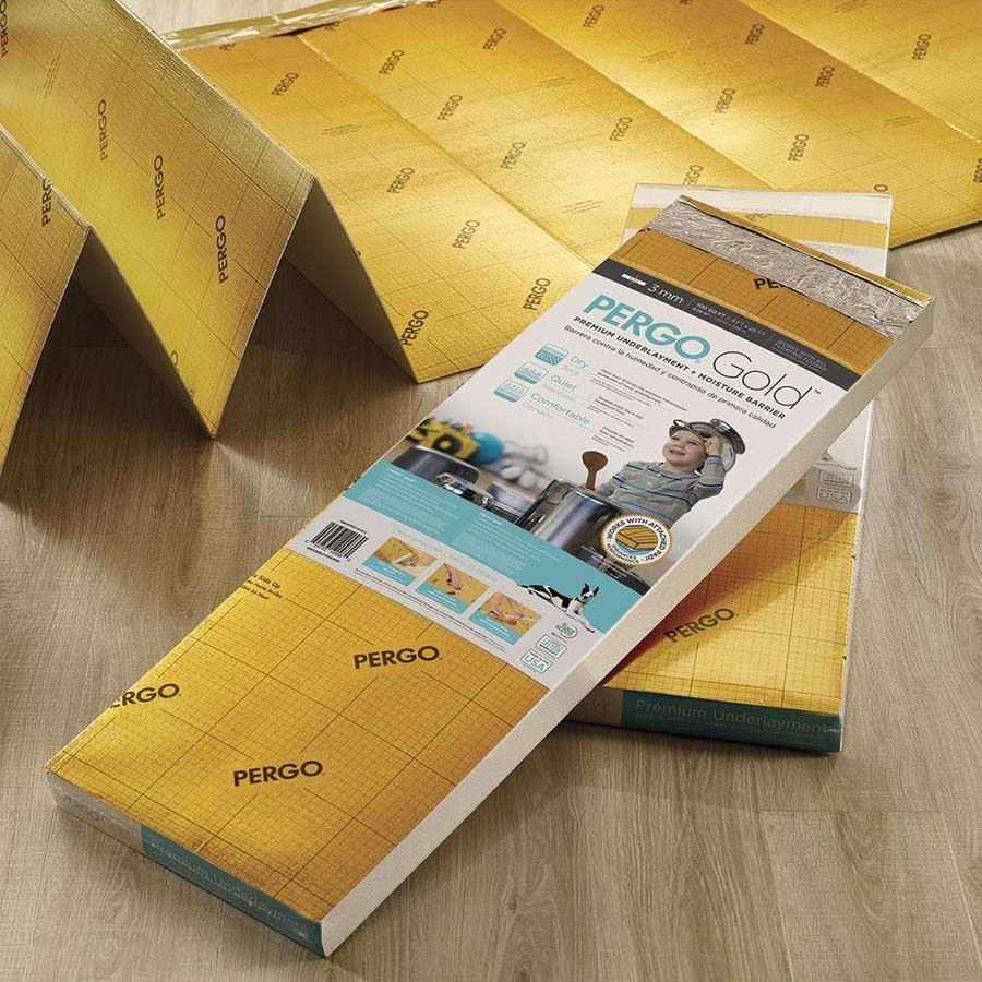 Pergo GOLD 100sq ft Premium 3mm Flooring Underlayment